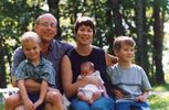 Rodinný portrét všech členů rodiny